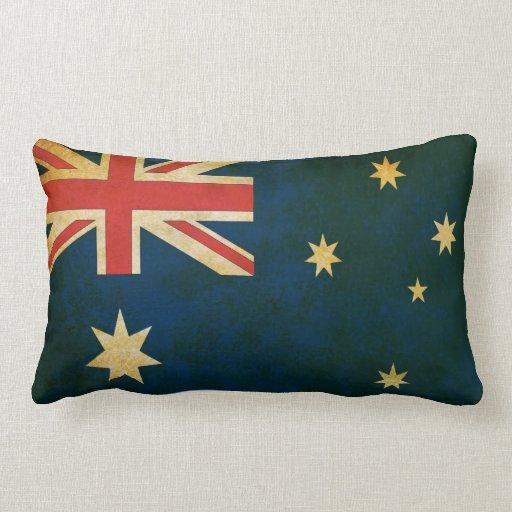 Almohada de tiro australiana del estilo del Grunge