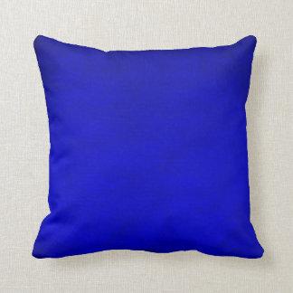 Almohada de tiro - azul de la mancha
