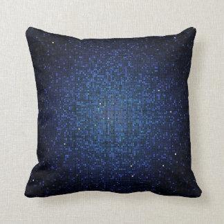 Almohada de tiro azul del sofá del disco de la