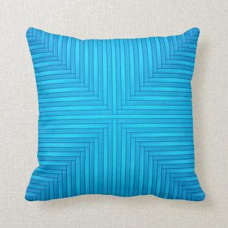 Almohada de tiro azul en colores pastel