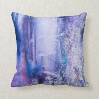 almohada de tiro bonita del extracto del teñido an