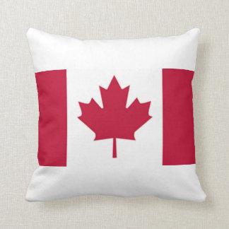 Almohada de tiro canadiense de la bandera de la ho