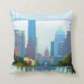 Almohada de tiro colorida de Austin