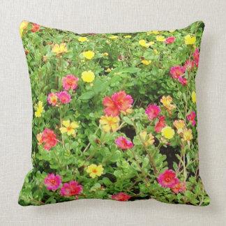 Almohada de tiro colorida del algodón de las