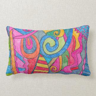 Almohada de tiro colorida del diseño de la