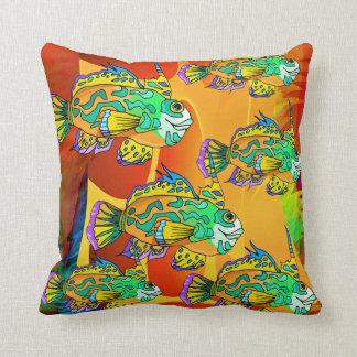 Almohada de tiro   colorida del diseño de los cojín decorativo