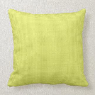 Almohada de tiro cómoda del color