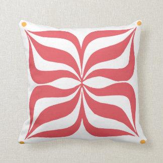 Almohada de tiro con el gráfico moderno en color cojín decorativo