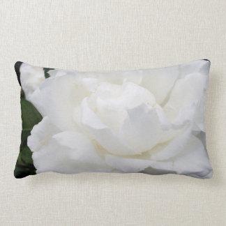 Almohada de tiro con el rosa blanco