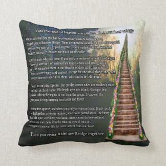 Almohada de tiro conmemorativa del recuerdo del ma