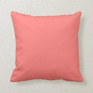Almohada de tiro coralina