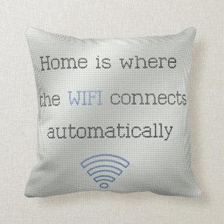 Almohada de tiro cruzada de WIFI del hogar de la