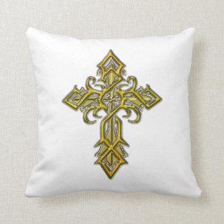 Almohada de tiro cruzada medieval de oro II