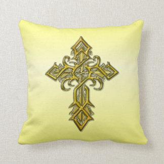 Almohada de tiro cruzada medieval de oro III