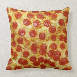 Almohada de tiro cuadrada de la pizza