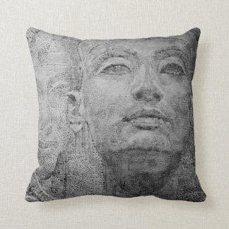 Almohada de tiro de Cleopatra y del pharaoh Cojín Decorativo