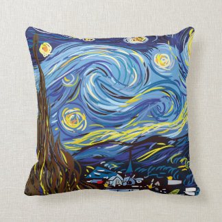 Almohada de tiro de Digitaces Van Gogh