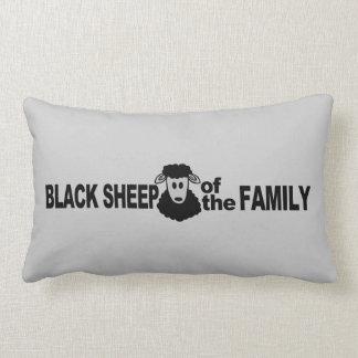 Almohada de tiro de encargo de las ovejas negras