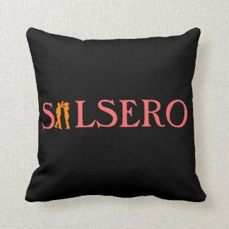 Almohada de tiro de encargo del bailarín latino de