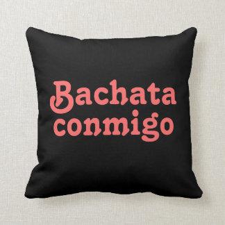 Almohada de tiro de encargo del baile latino de Ba
