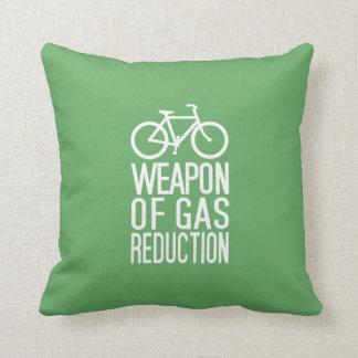 Almohada de tiro de encargo del color de la bicicl