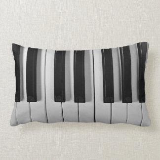 Almohada de tiro de encargo del teclado de piano