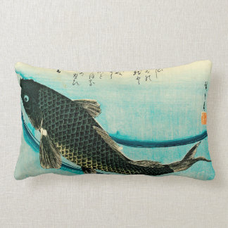 Almohada de tiro de Hiroshige Koi