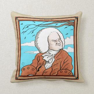 """Almohada de tiro de """"Johann Sebastian Bach"""""""