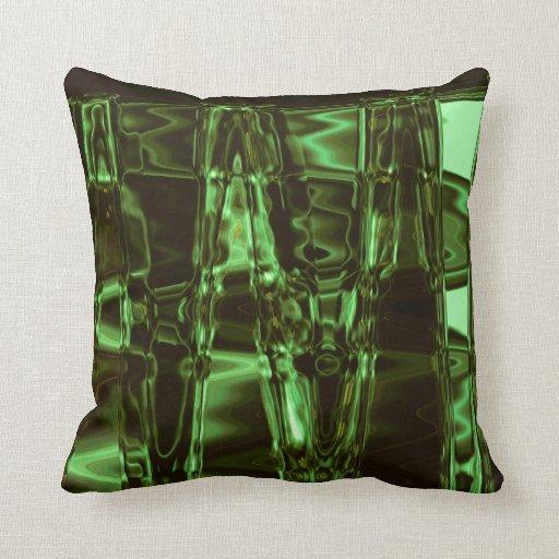 Almohada de tiro de la armadura del vidrio verde
