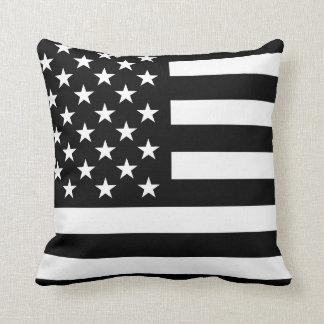Almohada de tiro de la bandera americana del apagó