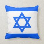 Almohada de tiro de la bandera de Israel