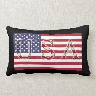 Almohada de tiro de la bandera de los E.E.U.U.