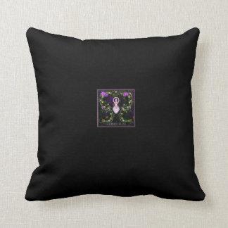 Almohada de tiro de la diosa del jardín