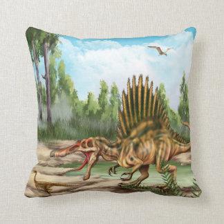 Almohada de tiro de la especie del dinosaurio