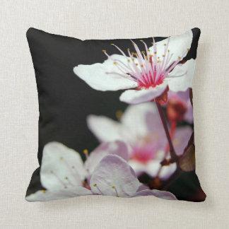Almohada de tiro de la flor de cerezo cojín decorativo