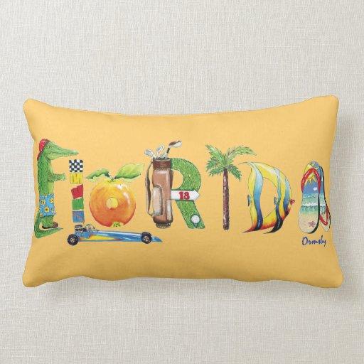 Almohada de tiro de la Florida