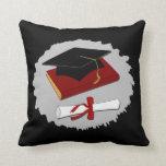 Almohada de tiro de la graduación