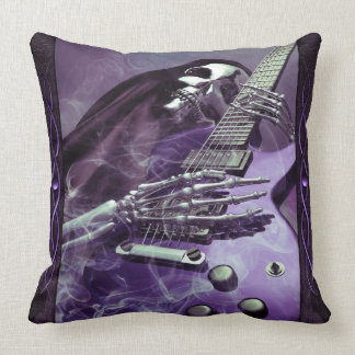 Almohada de tiro de la guitarra del parca cojín decorativo