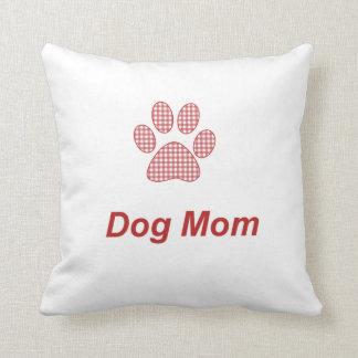 Almohada de tiro de la mamá del perro