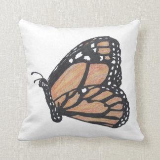 Almohada de tiro de la mariposa de monarca