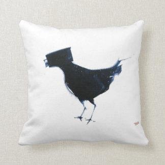 almohada de tiro de la observación de pájaros cojín decorativo