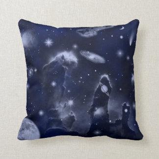 Almohada de tiro de la odisea del espacio cojín decorativo