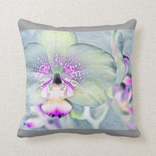 Almohada de tiro de la orquídea
