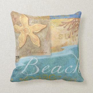 Almohada de tiro de la resaca/de la playa