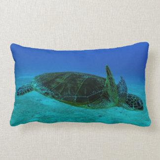 Almohada de tiro de la tortuga de mar de Hawksbill