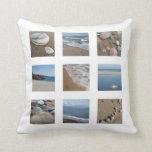 Almohada de tiro de los amantes de la playa del am
