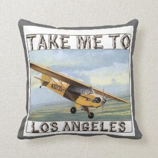 Almohada de tiro de Los Ángeles del vintage