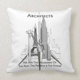 Almohada de tiro de los arquitectos
