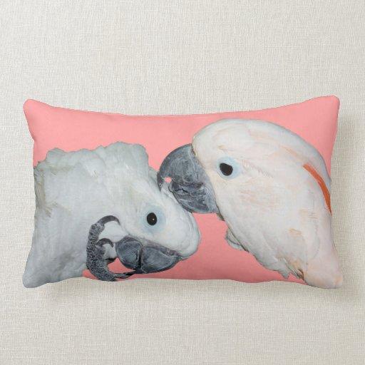 Almohada de tiro de los loros de Cockatoo