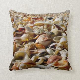 Almohada de tiro de los Seashells